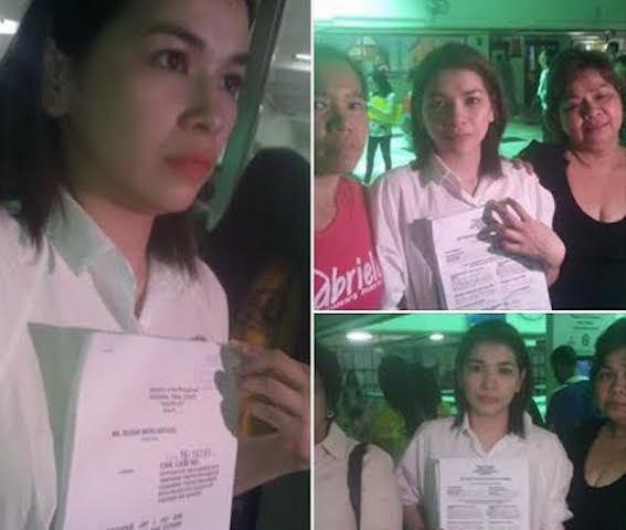 Sugar Mercado Sexbomb exmember seeks Gabriela39s help in VAWC case