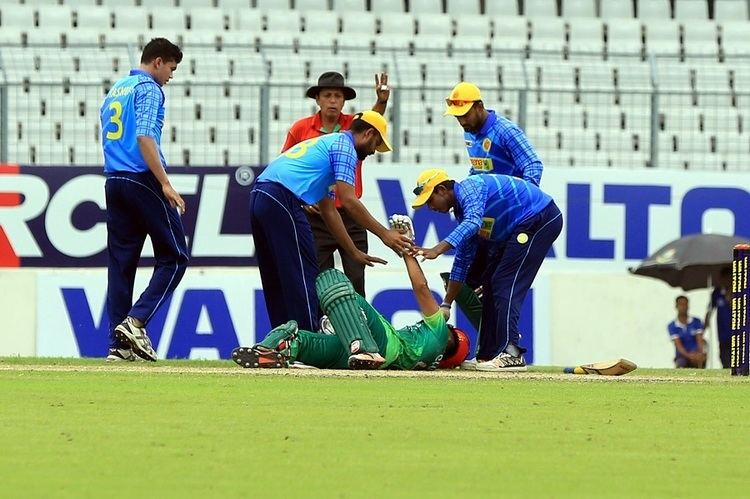 Victoria Sporting Clubs Suhrawadi Shuvo hospitalised after being