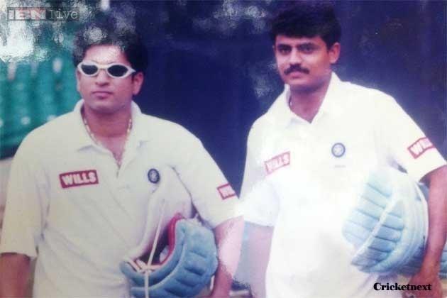 Sujith Somasunder (Cricketer) playing cricket