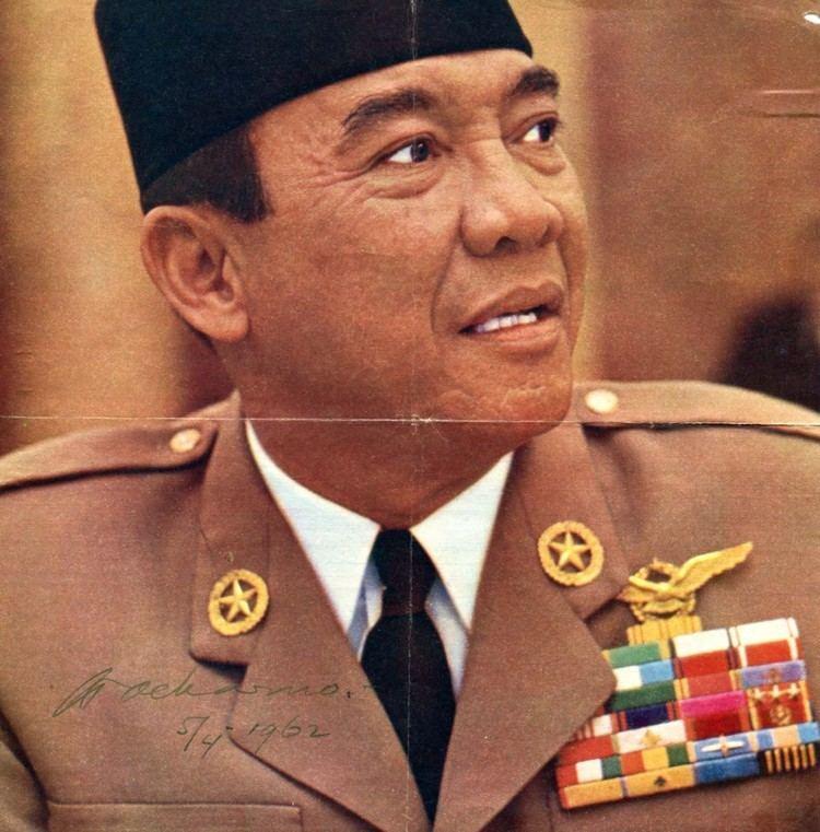 Sukarno Achmed Sukarno authentic Autograph