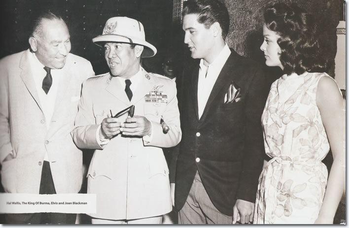 Sukarno Elvis Presley with Indonesias first President Kusno Soekarno