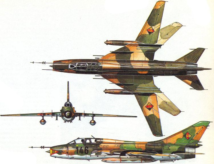 Sukhoi Su-17 WINGS PALETTE Sukhoi Su17Su20Su22 Fitter Germany East