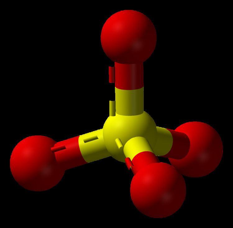 Sulfate FileSulfate3Dballspng Wikimedia Commons