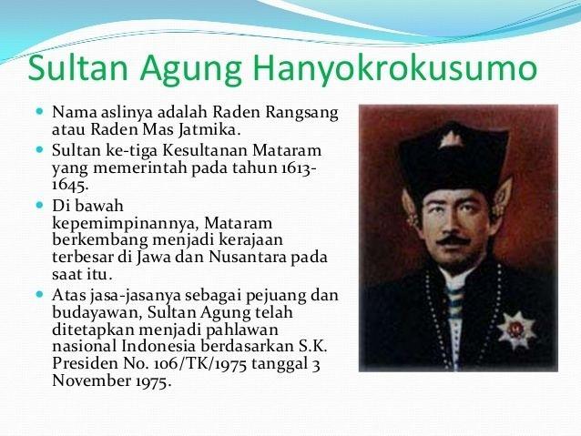 Sultan Agung of Mataram Sultan Agung Hanyokrokusumo Babat Mataram Yudhis mgt