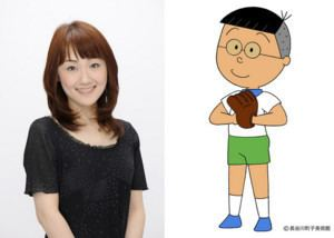 Sumiko Shirakawa Rumi Ochiai Replaces Sumiko Shirakawa as Nakajimakun in Sazaesan