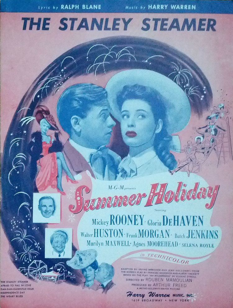 Summer Holiday (1948 film) The Stanley Steamer song from Summer Holiday 1948