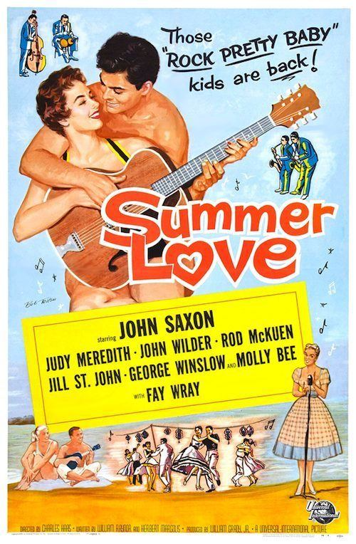 Summer Love (1958 film) SUMMER LOVE DVD 1958 MOVIE ON DVD Summer Love John Saxon