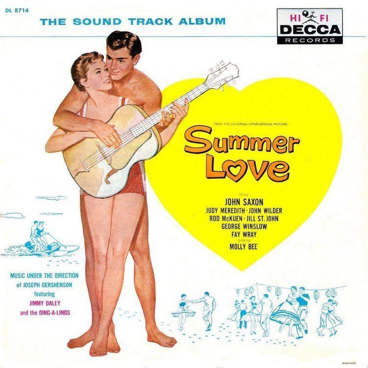 Summer Love (1958 film) Summer Love 1958 John Saxon Molly Bee Rod McKuen Judi