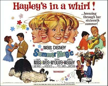 Summer Magic Musical Monday Summer Magic 1963 Comet Over Hollywood