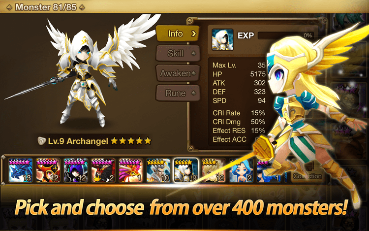 summoners war evolve or awaken
