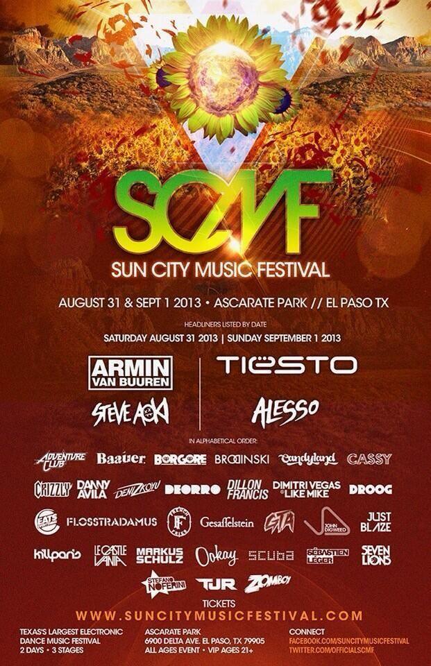 Sun City Music Festival Sun City Music Festival 2013 Lineup I AM GOINGGGG SCMF