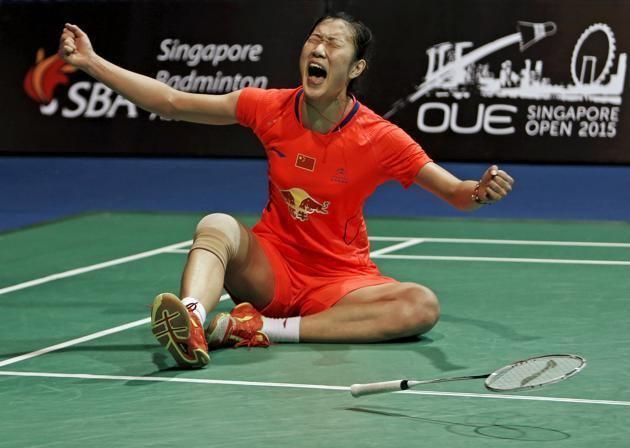 Sun Yu (badminton) Sun Yu of China wins her maiden Singapore Open title by beating Tai