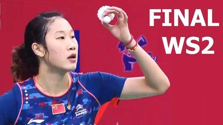 Sun Yu (badminton) Badminton Asia Team Championships 2016 SUN Yu vs Sayaka SATO WS2