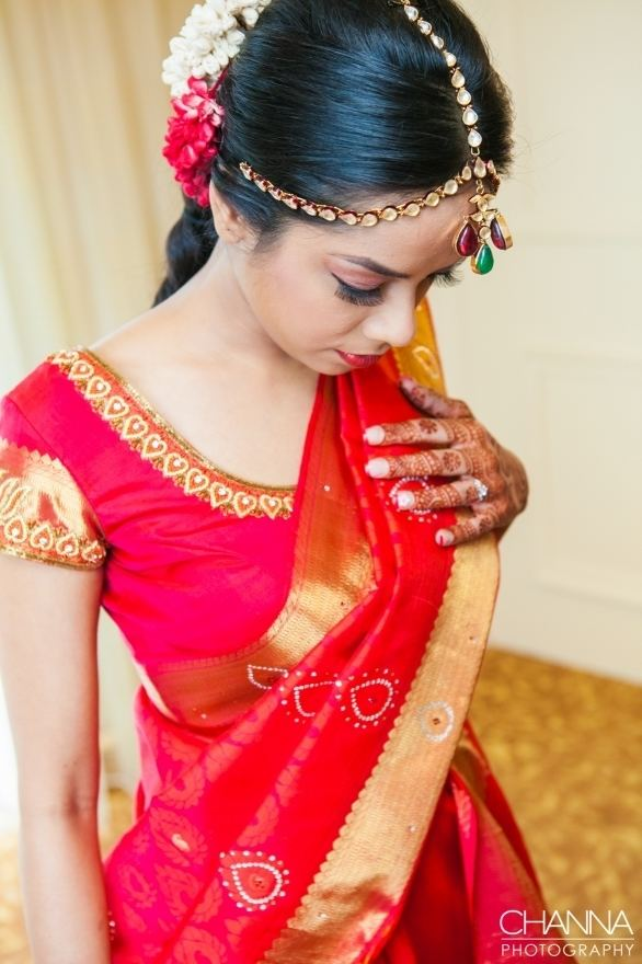 Sunayana Santosh Hindu Wedding Detroit Channa Photography
