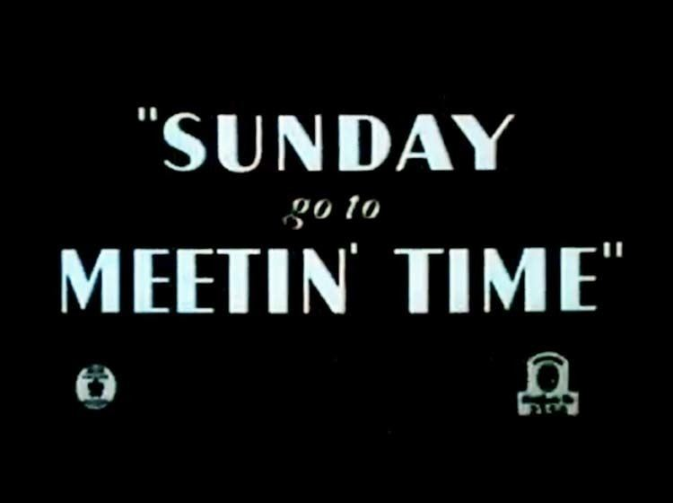 Sunday Go to Meetin' Time Cartoon Pictures and Video for Sunday Go To Meetin Time 1936 BCDB