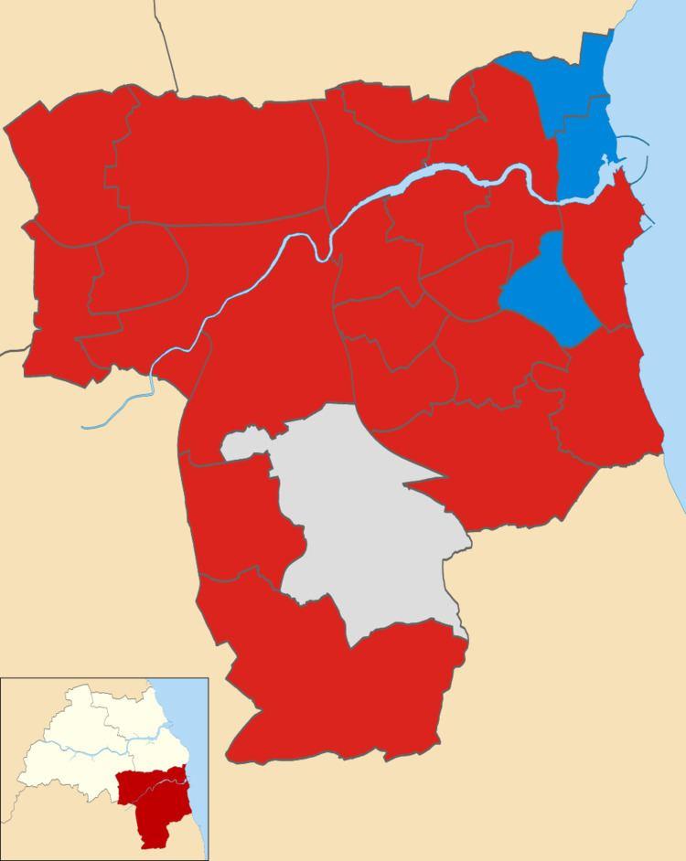 Sunderland City Council election, 2014