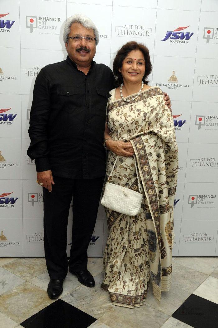 Sunil Alagh Sunil Alagh Maya Alagh60 Years of Jehangir Art Gallery