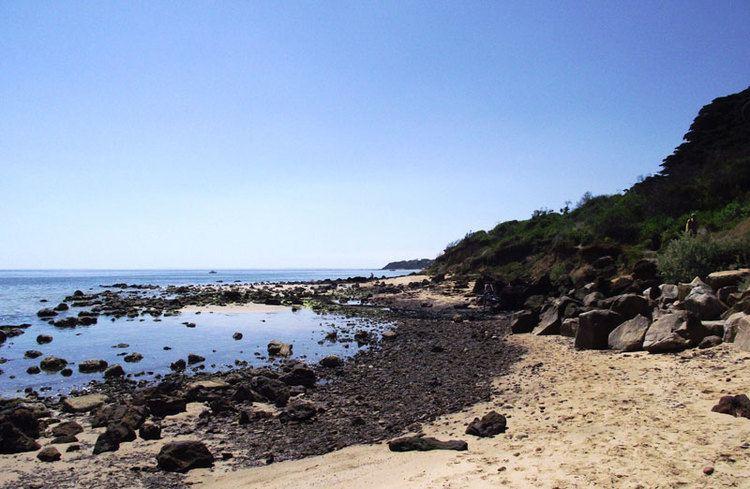 SUNNYSIDE NUDE BEACH, MOUNT ELIZA, MORNINGTON PENINSULA, M