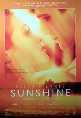 Sunshine (1999 film) movie poster