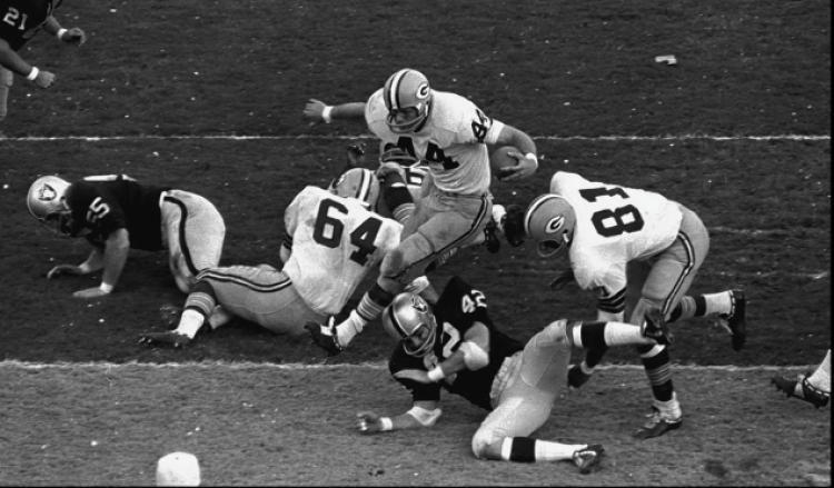 Super Bowl II Super Bowl II GB Supermen Crush Raiders 3314 NY Daily News