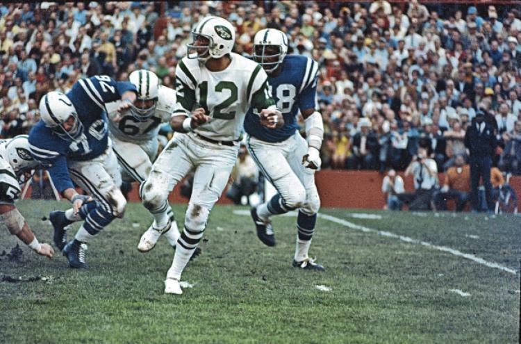 Super Bowl III Super Bowl III Namath Jets shock Baltimore Colts 167 NY Daily News