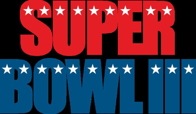 Super Bowl III Super Bowl III Wikipedia