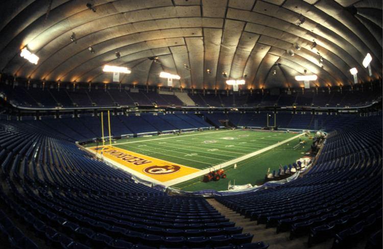 Super Bowl XXVI Metrodome before Super Bowl XXVI WCCO CBS Minnesota