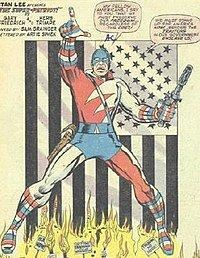 Super-Patriot (Marvel Comics) httpsuploadwikimediaorgwikipediaenthumb4