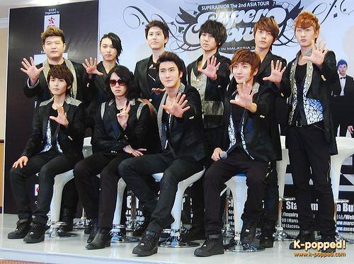 Super Show 2 Super Juniors Super Show 2 press conference in Malaysia