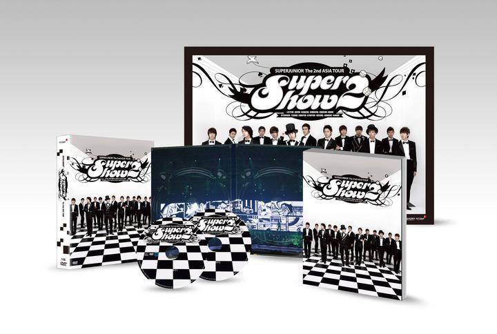 Super Show 2 YESASIA Super Junior The 2nd Asia Tour Super Show 2 DVD