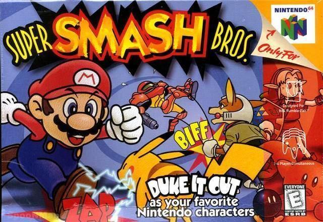Super Smash Bros. (video game) imggamefaqsnetbox8307830frontjpg