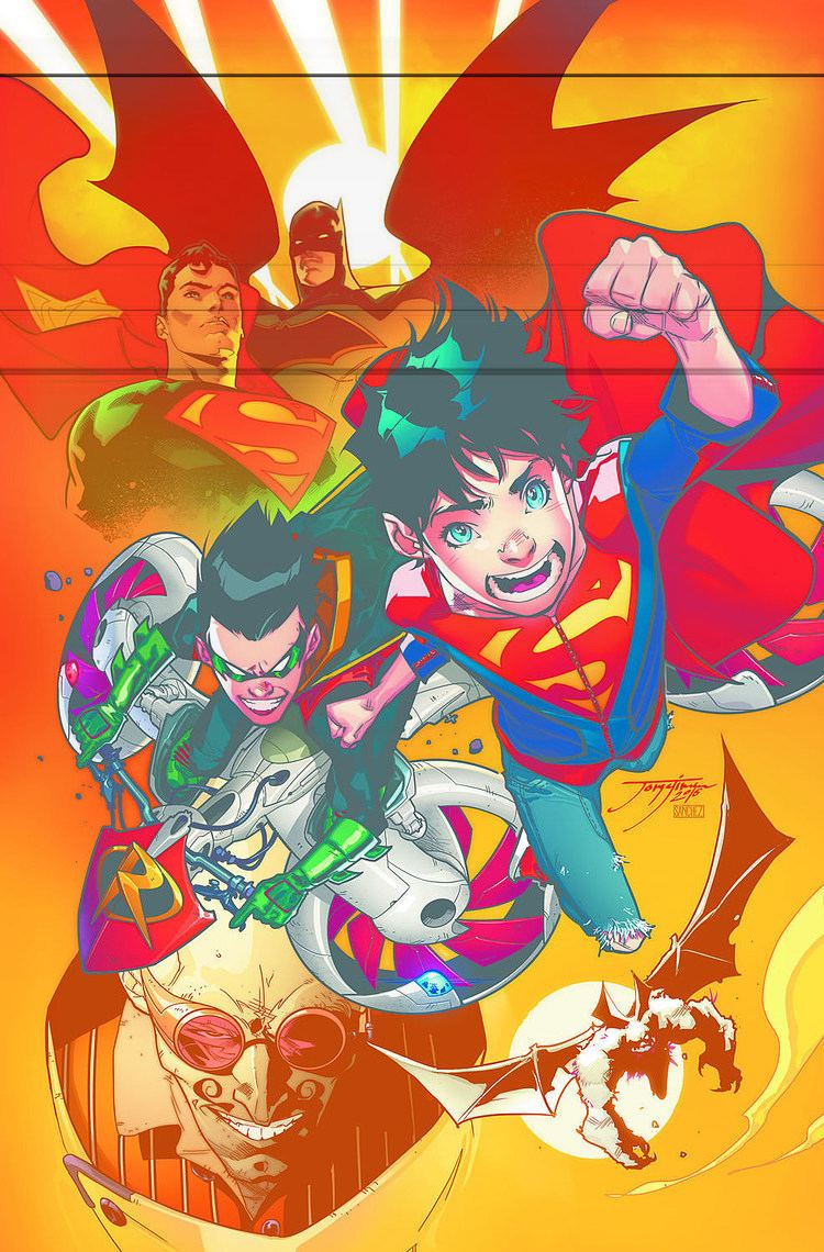 Super-Sons Tomasi And Jimenez Confirmed For Februarys Super Sons
