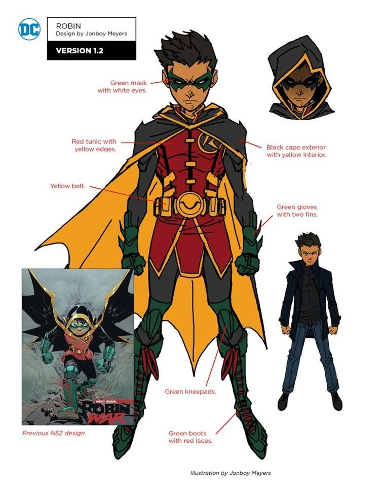 Super-Sons DC REBIRTH Character Sketches SUPER SONS