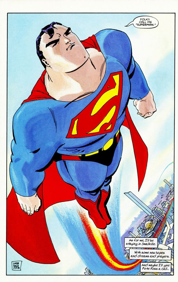 Superman for All Seasons Review Superman for All Seasons Comics Authority