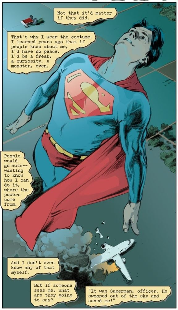 Superman: Secret Identity Book of the Month Superman Secret Identity