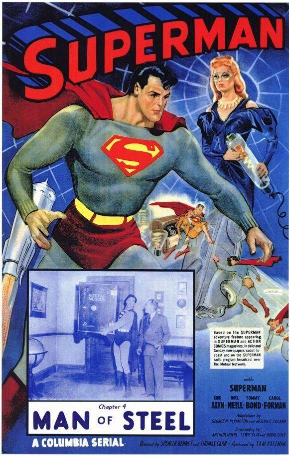 Superman (serial) superman serials 1948 photos Superman The 1948 1950 Theatrical