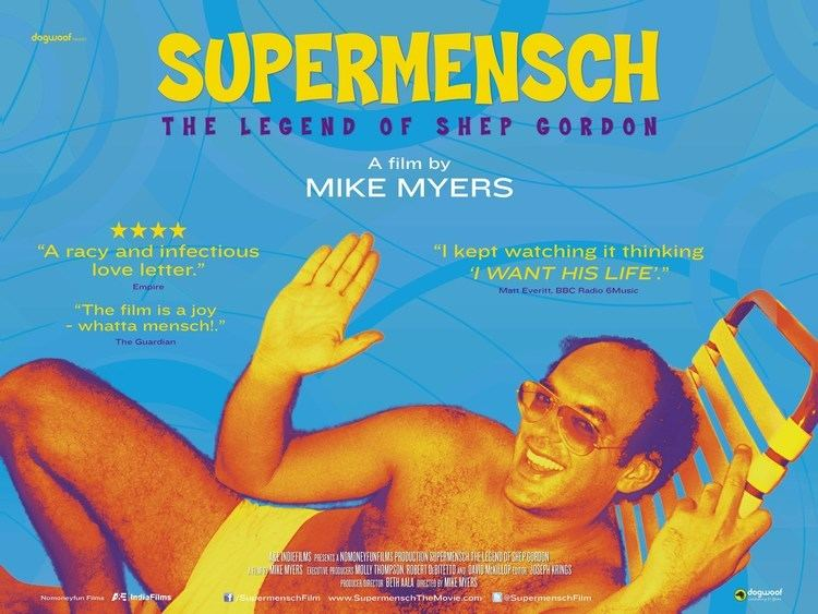 Supermensch: The Legend of Shep Gordon Supermensch The Legend Of Shep Gordon Official Trailer YouTube