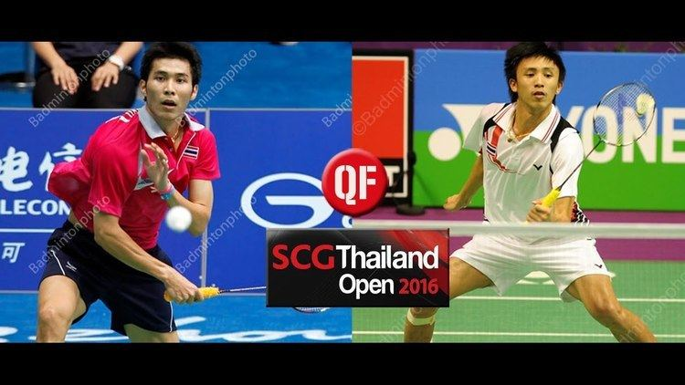 Suppanyu Avihingsanon 2016 SCG Thailand Open QF MS Suppanyu AVIHINGSANON vs Tanongsak