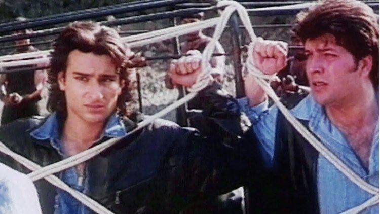 Saif Ali Khan Aditya Pancholi Surakshaa Action Scene 1415 YouTube