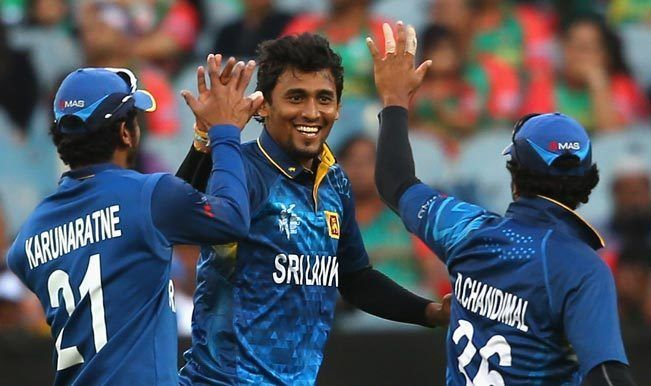 ICC Cricket World Cup 2015 Sri Lankas Suranga Lakmal fined for