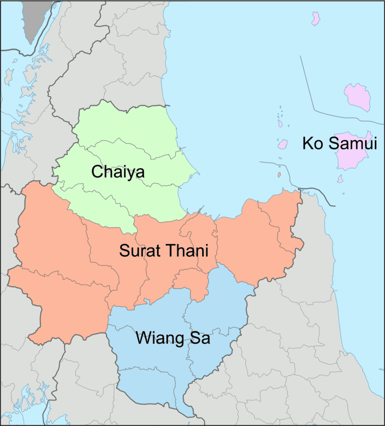 Surat Thani Province in the past, History of Surat Thani Province