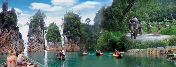 Surat Thani Province Tourist places in Surat Thani Province