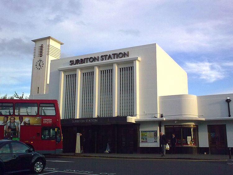 Surbiton railway station