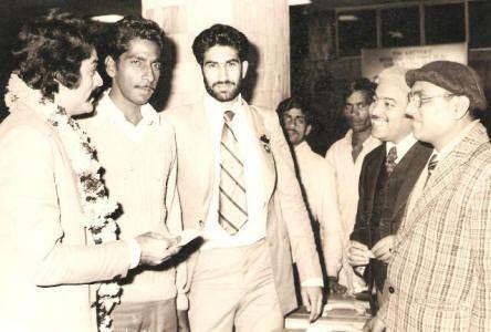 Suresh Kumar Mishra shyamsundarraocomimages197185arjunaawardeesjpg