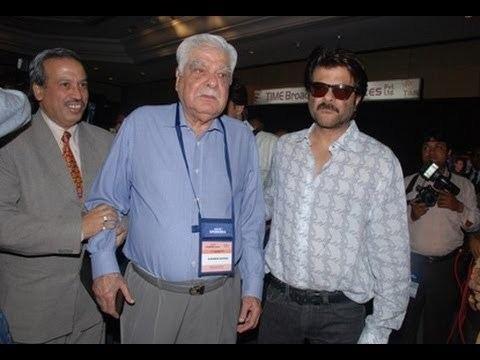 Surinder Kapoor Anil Kapoor39s Father Surinder Kapoor Passes Away YouTube