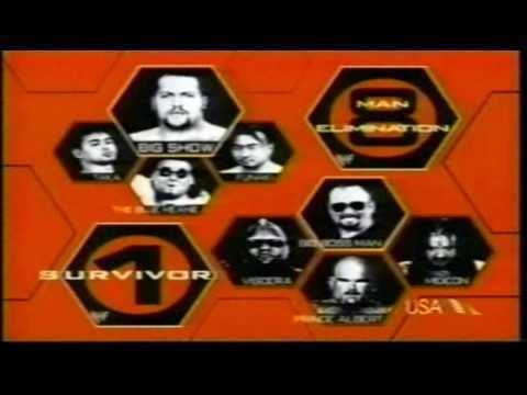 Survivor Series (1999) WWF Survivor Series 1999 Matchcard YouTube