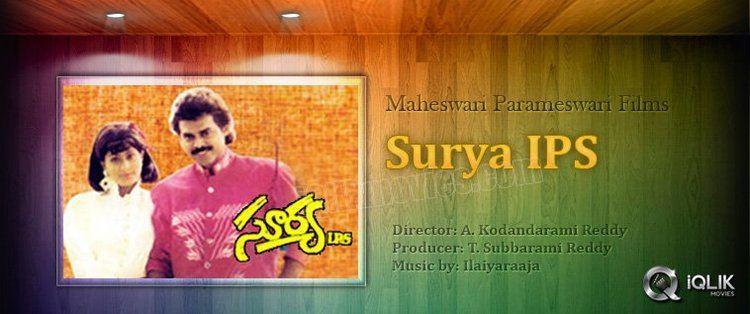Surya IPS Surya IPS Telugu Movie Review Venkatesh Vijaya Shanti A Kodanda