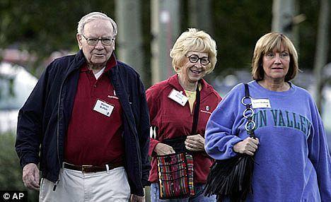 Susan Buffett Warren Buffett breaks down in tears at mention of his