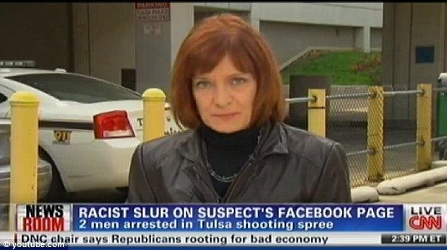 Susan Candiotti Tulsa shootings news CNN under fire after anchor Susan