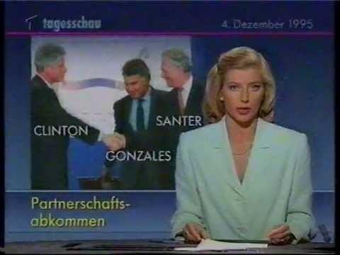 Susan Stahnke ARD 04121995 Tagesschau Susan Stahnke Video 2000 YouTube